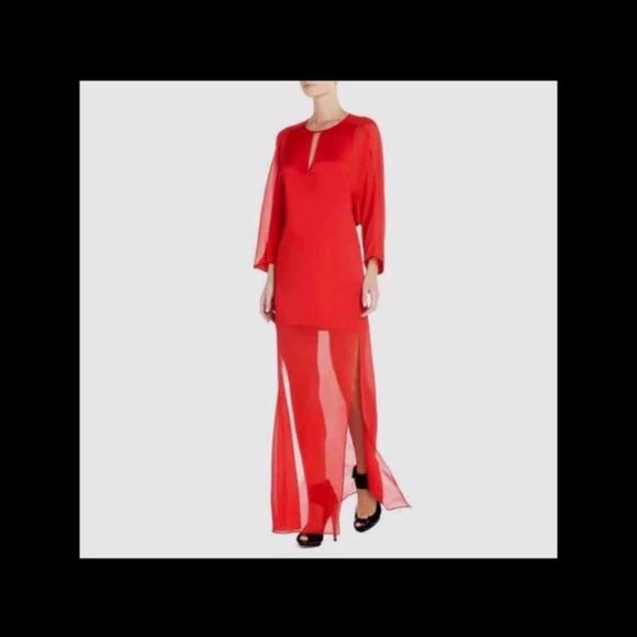 BCBGMaxAzria Dresses & Skirts - Bcbgmaxazria beautiful red dress/XS/